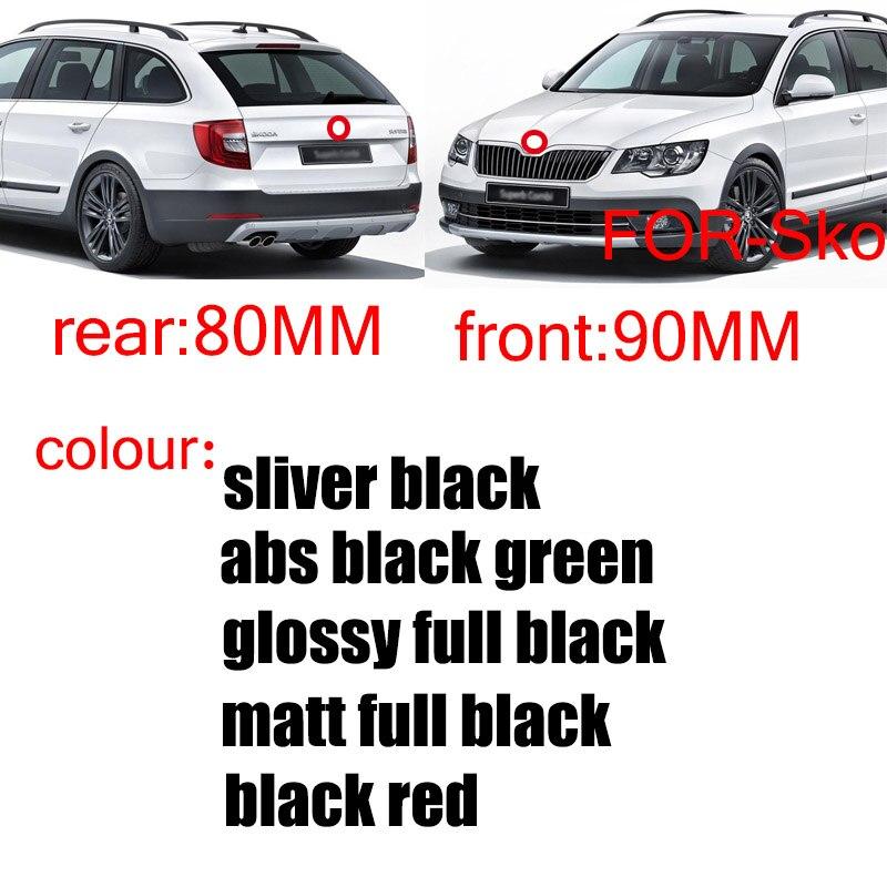 2 шт., черный, серебристый, зеленый, 90 мм, 80 мм, крышка переднего капота автомобиля, эмблема, задний багажник, значок, наклейка, кошачий стиль