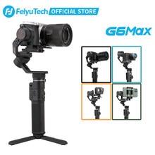 FeiyuTech officiel G6 Max 3 axes caméra de poche stabilisateur de cardan pour RX100 Ⅳ pour GoPro Hero 7 Smartphone pour Canon EOSM50