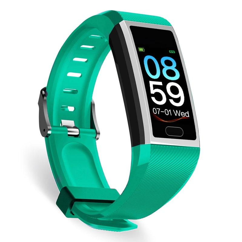 H92a33f8ec95a49e3b45672e41ff4055bo Fitness Bracelet Blood Pressure Measurement Waterproof Smart Band Bracelet Watch Fitness Tracker Heart Rate Activity Tracker