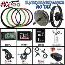 Ricetoo Электрический велосипед 48v 1500w bldc fat tire Снежный