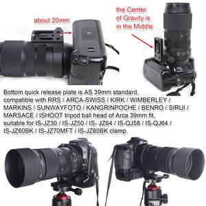 Image 5 - レンズ襟三脚マウントリングとアルカスイス型用シグマ 100 〜 400 ミリメートル f/ 5 6.3 dg OS HSM 現代