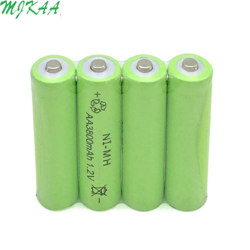 Nickel Metal Hydride Battery >> Hot Offer C41cf 4pcs Ni Mh 1 2v 3800mah Green Aa