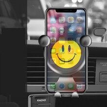 Universal Car Phone Holder Gravity Air Vent Mount For Smartp