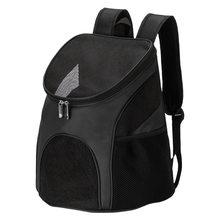 Gato do cão de estimação mochila transportadora viagem duplo ombro saco espaço cápsula gato mochilas para saco pequeno animais de estimação bolsa transporte produtos