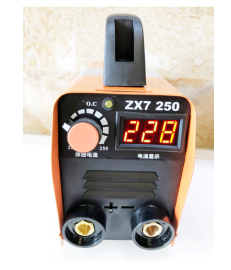 MMA Welding Machine 250A Compact Mini Inverter <font><b>Arc</b></font> Welding Machine Rod Welding Machine 110-250V image