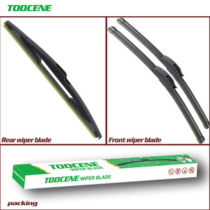 "Front And Rear Wiper Blades For Nissan Versa 2004-2011 Auto Windscreen Windshield Wipers Car Accessories 26""+14""+14F""(China)"
