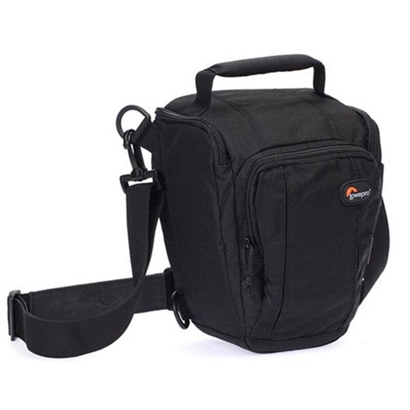 Image 4 - Быстрая доставка Lowepro Toploader Zoom 50 AW Высококачественная цифровая зеркальная камера сумка на плечо с водонепроницаемым чехлом-in Сумки для фото-/видеокамеры from Бытовая электроника
