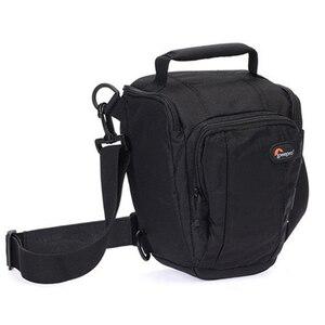 Image 4 - Lowepro bolsa tipo bandolera para cámara con cubierta impermeable, Zoom 50 AW, envío rápido