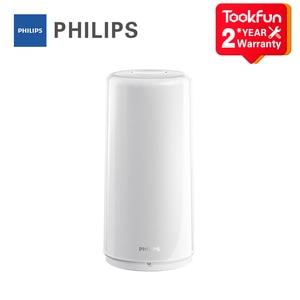 Image 1 - Hot PHILIPS Zhirui LED Bedside light Smart indoor table lamp USB charging night light bedroom desk lamp control by Mihome APP