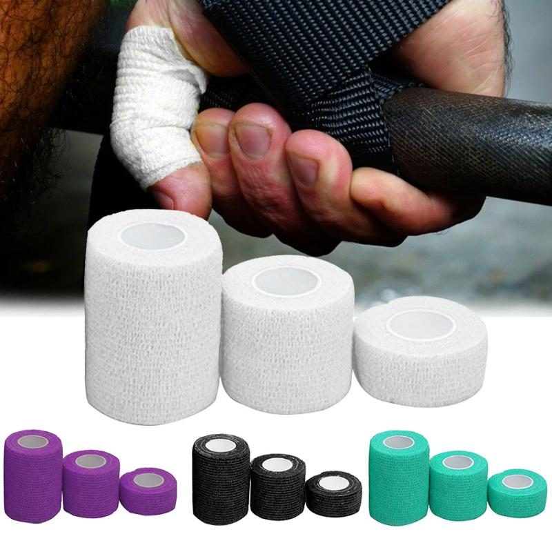 3pcs Bandage Care Finger Elastic Pain Relief Sports Tape Strain Support Thumb Self Adhesion Breathable Athletic Weightlifting