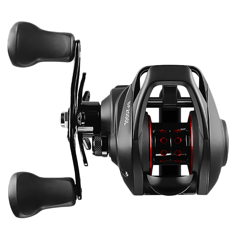 Bf2000 Reel High Speed 7.2:1 Gear Ratio 12+1Bb Fresh/Saltwater Magnetic Brake System Ultralight Fishing Reel (Left Hand)