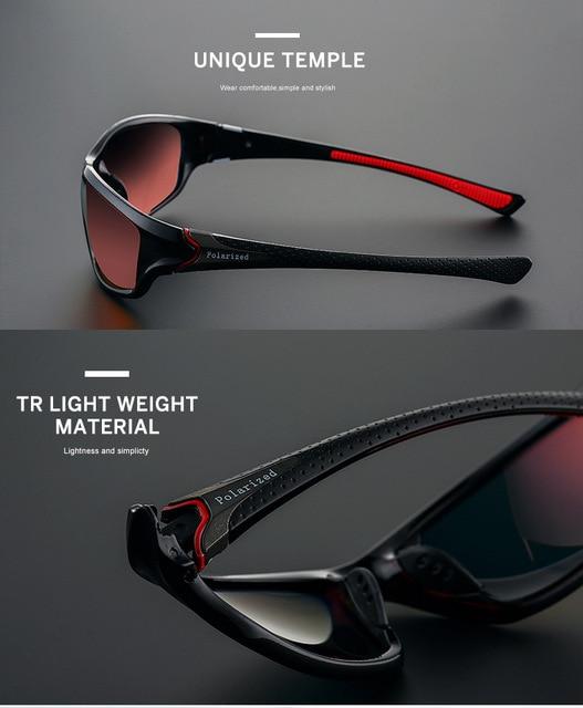 2020 unisex 100% uv400 polarizado condução óculos de sol esportes ao ar livre ciclismo pesca viagem óculos de sol para homens acessórios da bicicleta 4