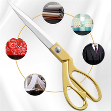 Sewing Scissors Stationery Clothing Fabric Professional And Straight 1pcs Cuts Household