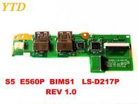 Original para lenovo s5 e560p placa usb s5 e560p bims1 LS-D217P rev 1.0 testado bom frete grátis