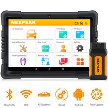 OBD2 Diagnostic Scanner Key-Programming Nexpeak K1pro Professional Full-Systems