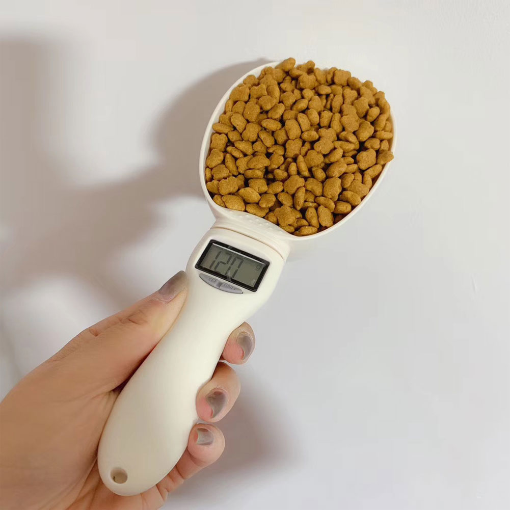 800g Pet Food Weighing Spoon With Led Display 3