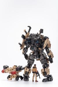 """Image 5 - JOYTOY JT0203 çelik kemik zırh çöl Ver. 9 """"Robot modeli ve sürücü 1/25 aksiyon figürü"""