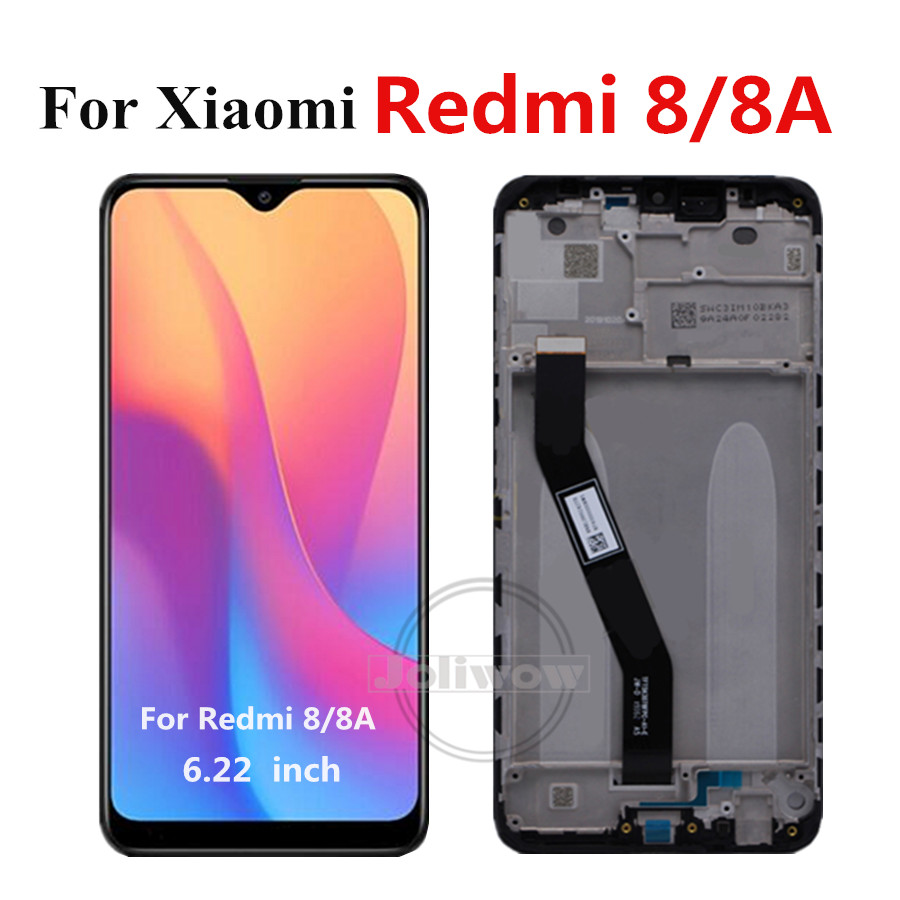 Original For <font><b>Xiaomi</b></font> <font><b>Redmi</b></font> <font><b>8</b></font> LCD Screen <font><b>Display</b></font> With Frame Touch Screen Panel Digitizer For <font><b>Xiaomi</b></font> <font><b>Redmi</b></font> 8A <font><b>8</b></font> A Redmi8 LCD image