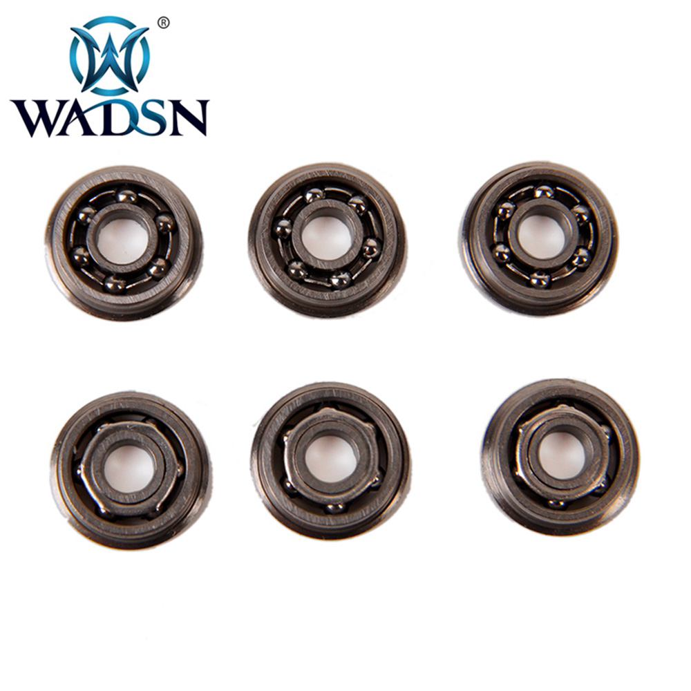 WADSN 8 MM Stainless Steel High Precision Ball Bearing For Airsoft AEG Gearbox Tactical Bearings FB06008 Paintball Accessories