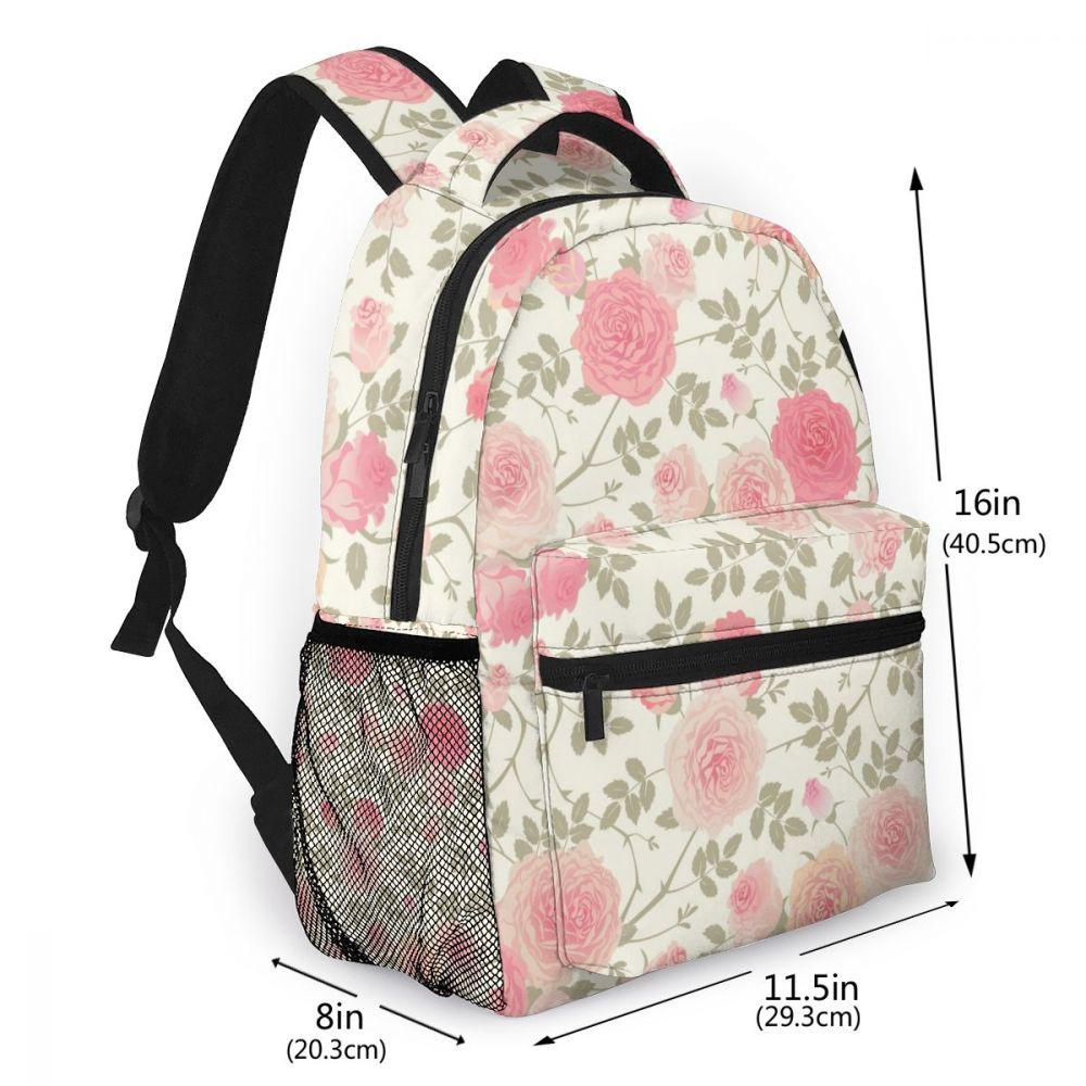 Mochila feminina bolsa de ombro para meninas