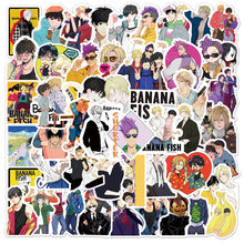 10 50 100 Stks/pak Japan Anime Cartoon Anime Banaan Vis Stickers Esthetische Laptop Fiets Gitaar Skateboard Waterdicht Stiker