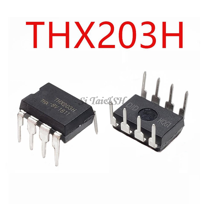 10PCS THX203H DIP8 THX203H-7V DIP-8 THX203H-8V THX203 DIP New And Original IC
