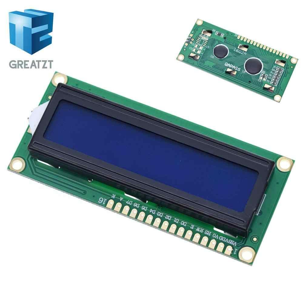 GREATZT 1PCS LCD module Blue Green screen IIC/I2C 1602 for arduino 1602 LCD UNO r3 mega2560 LCD1602