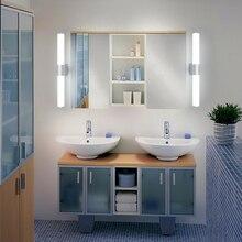 Настенные светильники для ванной комнаты светодиодный светильник-зеркало водонепроницаемый 12 Вт 16 Вт 22 Вт Светодиодный светильник современный настенный светильник для ванной комнаты