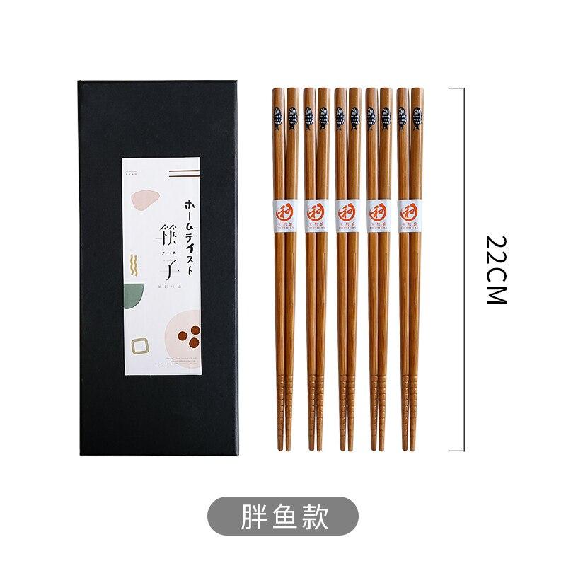 Купить палочки для еды 5 пар японские и корейские деревянные палочки