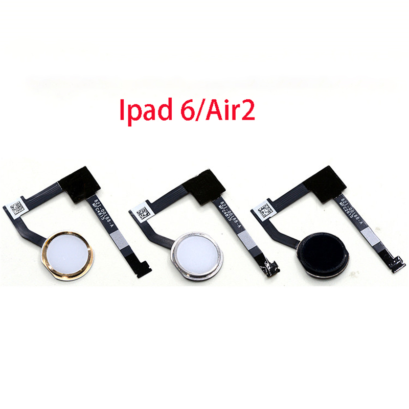 Für <font><b>Iphone</b></font> Ipad <font><b>6</b></font> Air 2 <font><b>Fingerprint</b></font> Scanner Touch Sensor Home Button Flex Kabel image