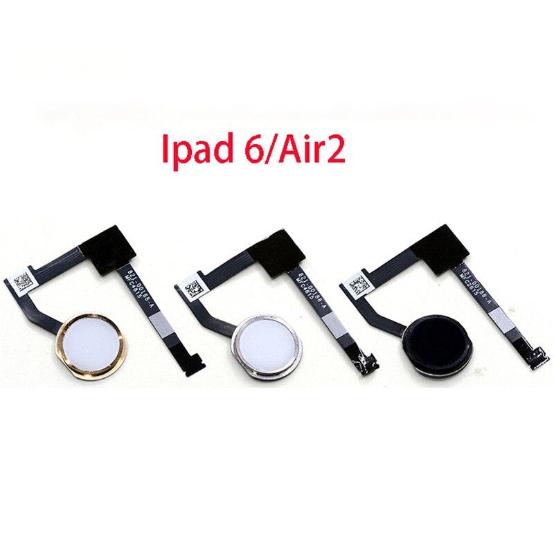 For Iphone Ipad 6 Air 2 Fingerprint Scanner Touch Sensor Home Button Return Flex Cable