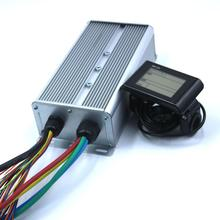 Greentime 24 Mosfet 48/60V/72V 3000W 80Amax Bldc Motor Controller, ev Brushless Speed Controller En SW-LCD Display Een Set