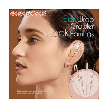 Ear Wrap Crawler Hook Earrings 7