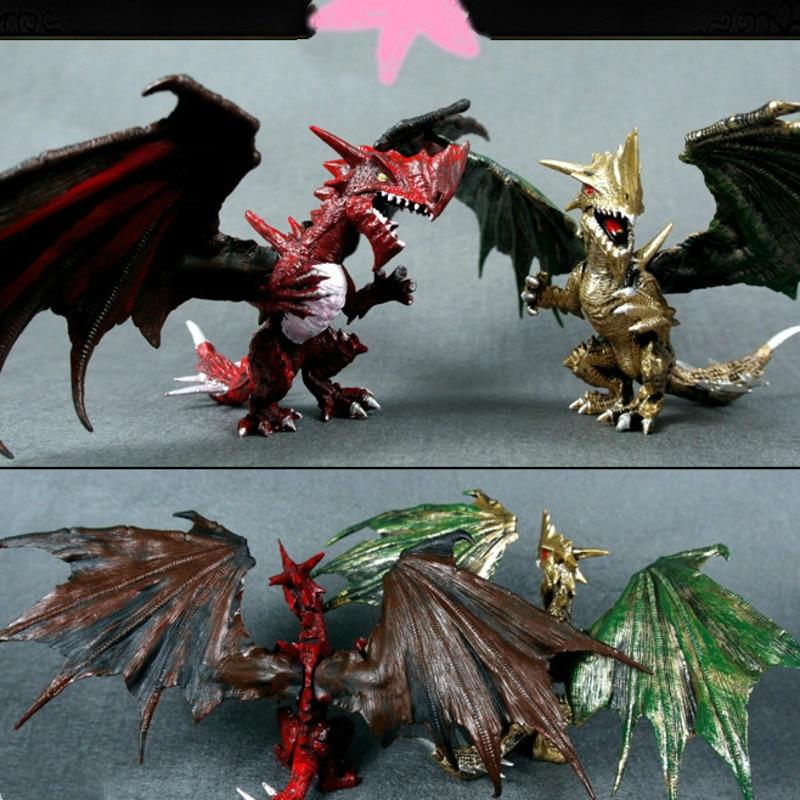 WorldOf Warcraft Dragon Plastic Model Simulation Pterosaur Nezarios Death Figure Collectible Figurines ChristmasItemsBlizzard