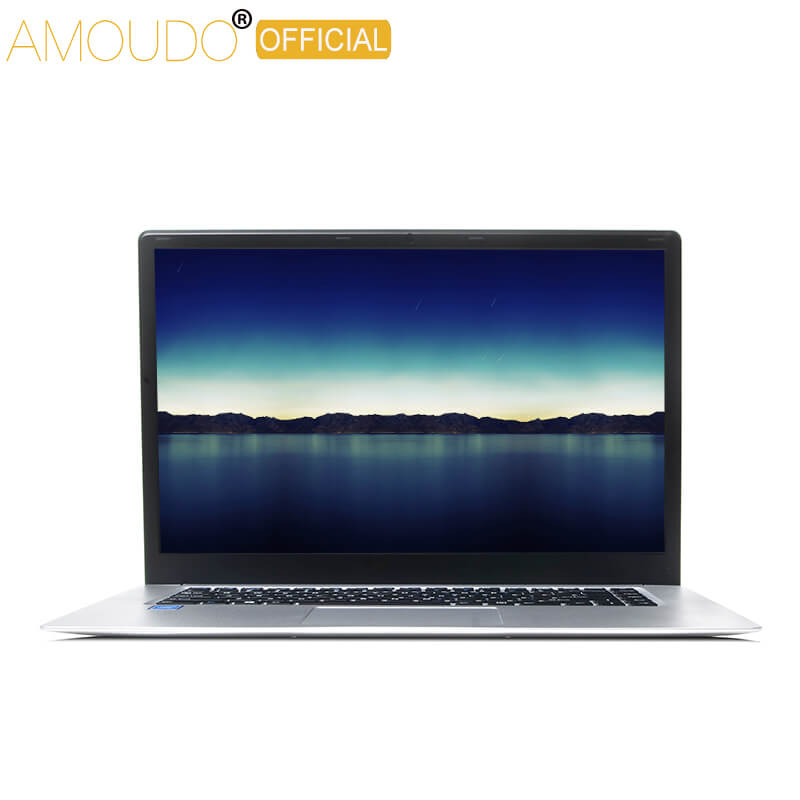 AMOUDO 15.6inch 4GB Ram+64GB EMMC Intel Braswell Quad Core Win 10 Dual Band Wifi Bluetooth 4.0 Laptop Notebook Computer