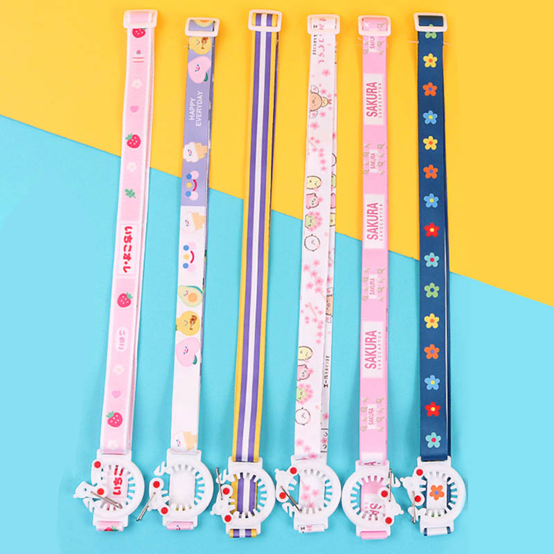 Water Bottle Shoulder Strap Kettle Straps Cute Cartoon Kettle Accessories 1Pcs Comfortable Portable Baby Kettle Buckle Lanyard