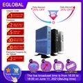 Eglobal Günstige Fanless Mini PC Windows 10 Pro Intel i5 7200U i3 7167U i7 4500U DDR4/DDR3 Barebone Computer 4K HTPC WiFi HDMI VGA