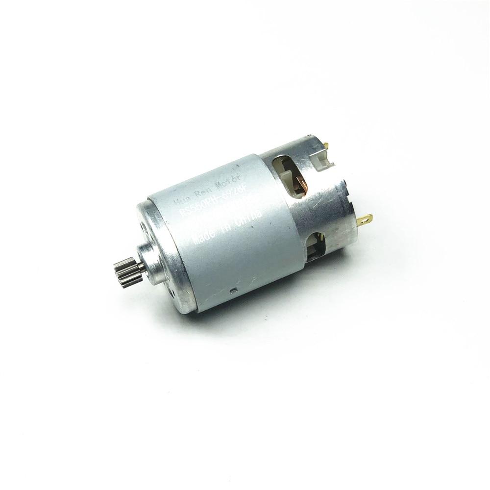 RS550 мотор 17 14 15 12 зубов 9 зубов 7,2 9,6 10,8 12V 14,4 V 16,8 V 18V 21 V, алюминиевая крышка, 25В Шестерни 3 дюймов для беспроводной зарядки дрель электрическая отвертка|Двигатель постоянного тока DC|   | АлиЭкспресс