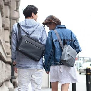 Image 4 - NINETYGO 90FUN 도시 간결한 시리즈 어깨 방수 캐주얼 Crossbody 가방 학교 커플 여성을위한