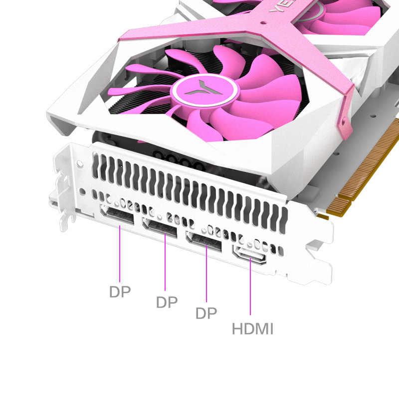Yeston RX5700 بطاقة جرافيكس للالعاب XT GPU 8GB GDDR6 256bit فستان تايكون الوردي سوبر تطور 7nm حاسوب شخصي مكتبي فيديو PCI-E 3.0