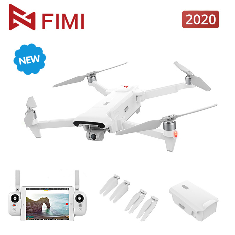 FIMI X8SE 2020 Camera Drone for Xiaomi Ecological Chain Brand 4K RC Drone 8KM FPV 3-axis Gimbal 4K Camera 35mins Flight Time