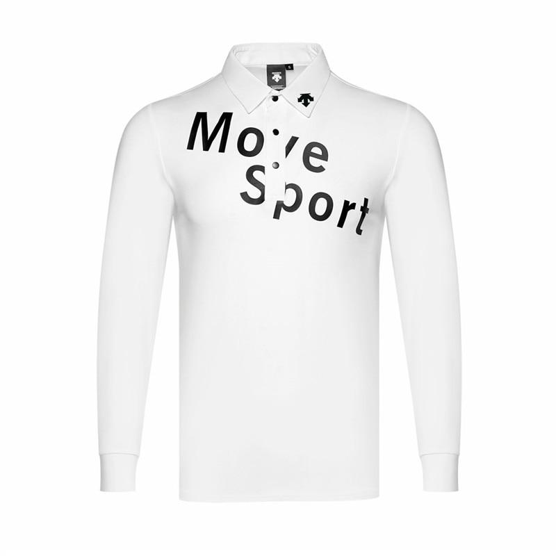QMen's sportswear long-sleeved golf T-shirt 3colors golf apparel S-XXL choose leisure golf clothing free shipping