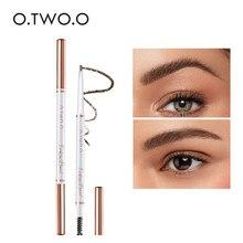 O.TWO.O Ultra Slim Eyebrow Pencil Waterproof Smudge Eyebrows Pen Tattoo Cosmetics 3 Color Eyebrow Enhancer Beauty Cosmetic Tool