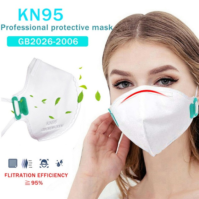 10/20/50PCS KN95 Protective Mask N95 Valve Masks Particulate Respirator Flu Anti Infection PM2.5 Protective Same As KF94 FFP2 1
