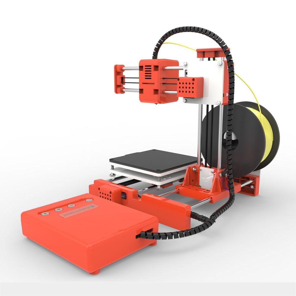 Mini Portable  Kids 3D DIY Printer for Household Education 26