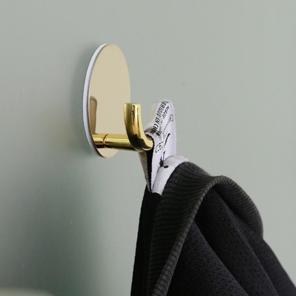 Nordic Creative Simple Black Wall Coat Hook Single Hook Porch Living Room Gold Hook Hook Clothing Coat Hook 2020 New Hot