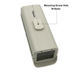 Image 3 - كاميرا دائرة تليفزيونية مغلقة داخلية غلاف الأمن المراقبة الضميمة الإسكان الألومنيوم ABS رمادي حماية الغرفة