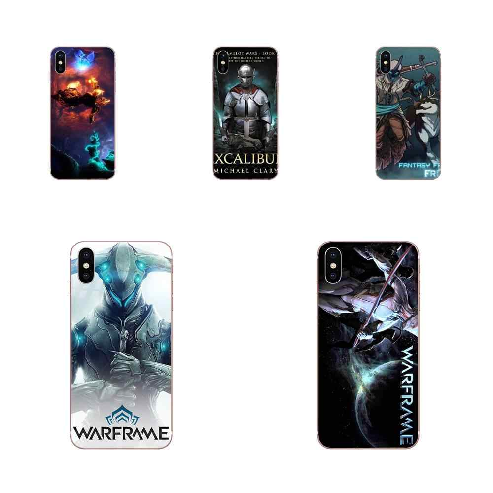 Warframe Excalibur Soft TPU Cool Best Cover Case For Samsung ...