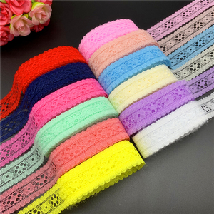 5yards/Lot 20mm Lace Ribbon Embroidered Lace Fabric Trim Decoration DIY Handmade Sewing Crafts Latest African Laces Fabric