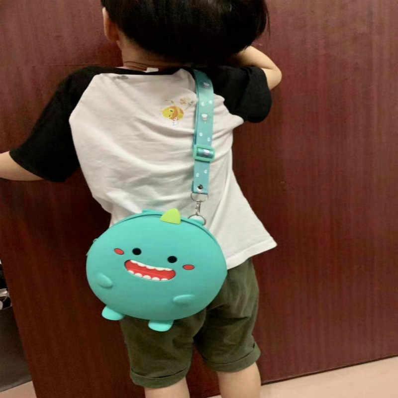 Mini Rugzak Kids Zachte Siliconen Schoudertas Voor Kinderen Meisjes Jongens Multifunctionele Kleine Bagpack Vrouwelijke Dames School Rugzak